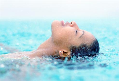 вода снимает стресс